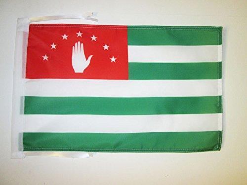 AZ FLAG Flagge ABCHASIEN IN GEORGIEN 45x30cm mit Kordel - ABCHASIEN Fahne 30 x 45 cm - flaggen Top Qualität