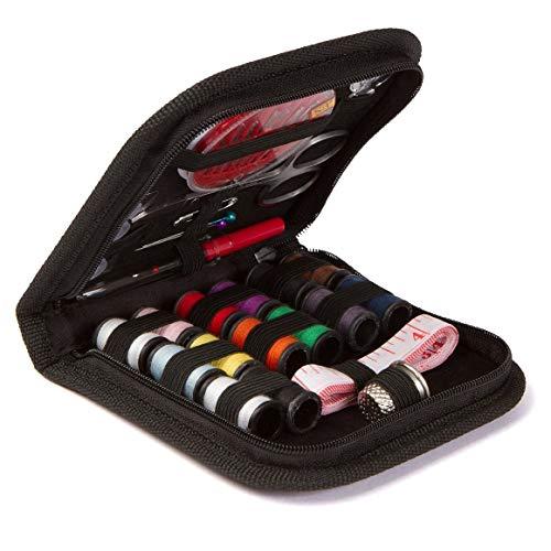 KoelrMsd Kit de Costura DIY Suministros de Costura Premium Cremallera Mini Kit de Costura portátil y Completo Suministros de reparación Accesorios de Costura