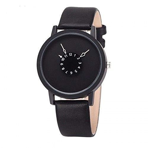 Top 2019 Futuristische Designer Armbanduhr Uhr Damenuhr Herrenuhr schwarz