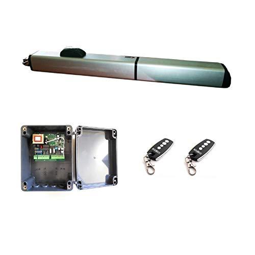 Kit hidráulico completo profesional motor uso intensivo puerta garaje batiente uso residencial o...