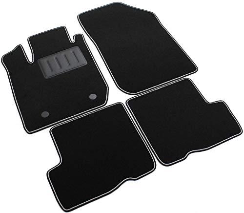 SPRINT00700 - Tappeti auto Moquette antiscivolo Colore nero