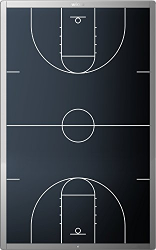 Wicue 23inch Basketball Coach LCD Writing Board - Perfect Basketball Tactics Board for Coaches, Players with Erase and Lock Function