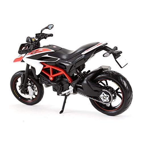 CYHT Modelo de Juguete de Motocicleta Hacker 2013 Hypermotardo SP Superficie de Carretera Locomotora Simulación de la aleación Motocicleta Modelo de la colección Regalos