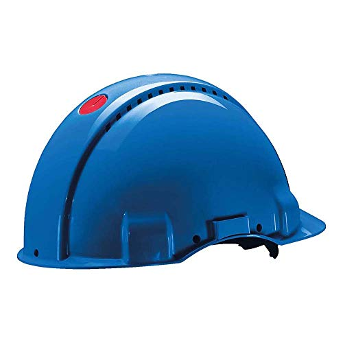 3M Peltor G30NUB Casco de Seguridad, 1 Casco/Caja, Azul ⭐