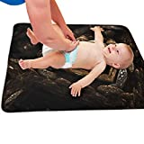 Zcfhike Baby Portable Diaper Changing Pad Dark Egg Urinary Pad Baby Changing Mat...