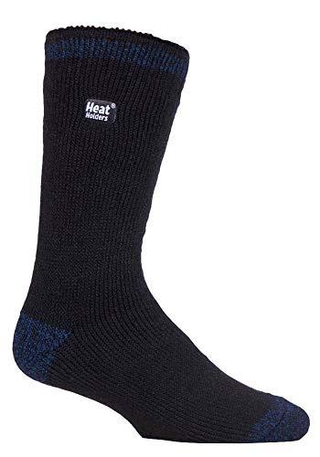 Heat Holders Herren Thermo-Socken, gemustert, warm, für den Winter, gestreift, in 10 Farben, Größe 39 - 45 Gr. Large, Oakham