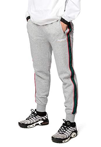 Pusher Apparel Herren Pusher Hustle Sweatpants Jogginghose, Grey, L