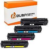 Bubprint 054H Cartucho Tóner Compatible para Canon 054 054H 054 H i-Sensys LBP-621Cw LBP-623Cdw LBP-640C MF640C MF641Cn MF641Cw MF642Cdw MF643Cdw MF644Cdw MF645Cx 4 Pack