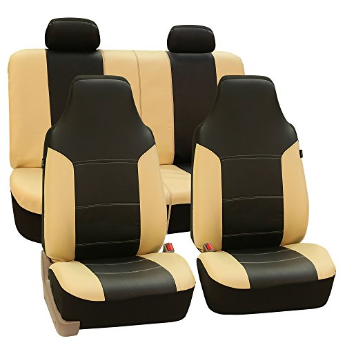 FH Group High Back Royal PU Leather Seat Covers