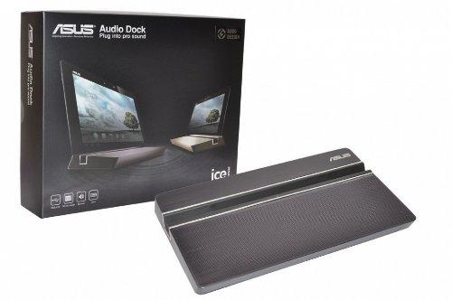 ASUS Transformer Pad (TF300T) Original Audio Dock grau Micro USB Docking Station inkl. 36W Netzteil
