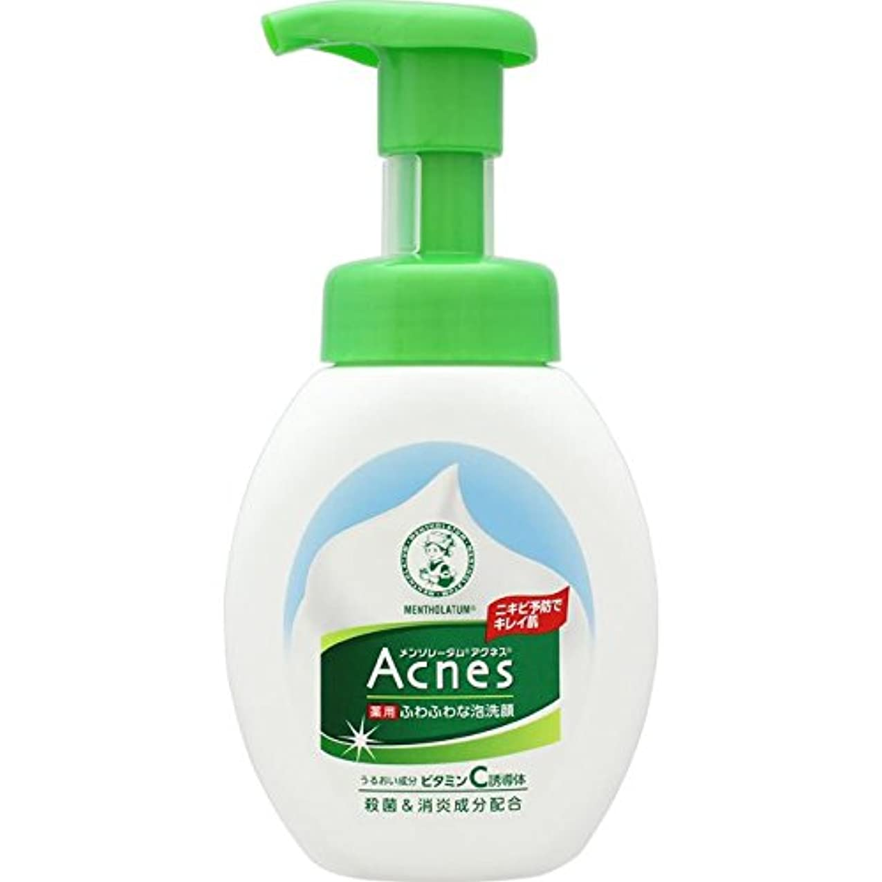 気怠い民族主義ビームAcnes(アクネス) 薬用ふわふわな泡洗顔 160mL【医薬部外品】
