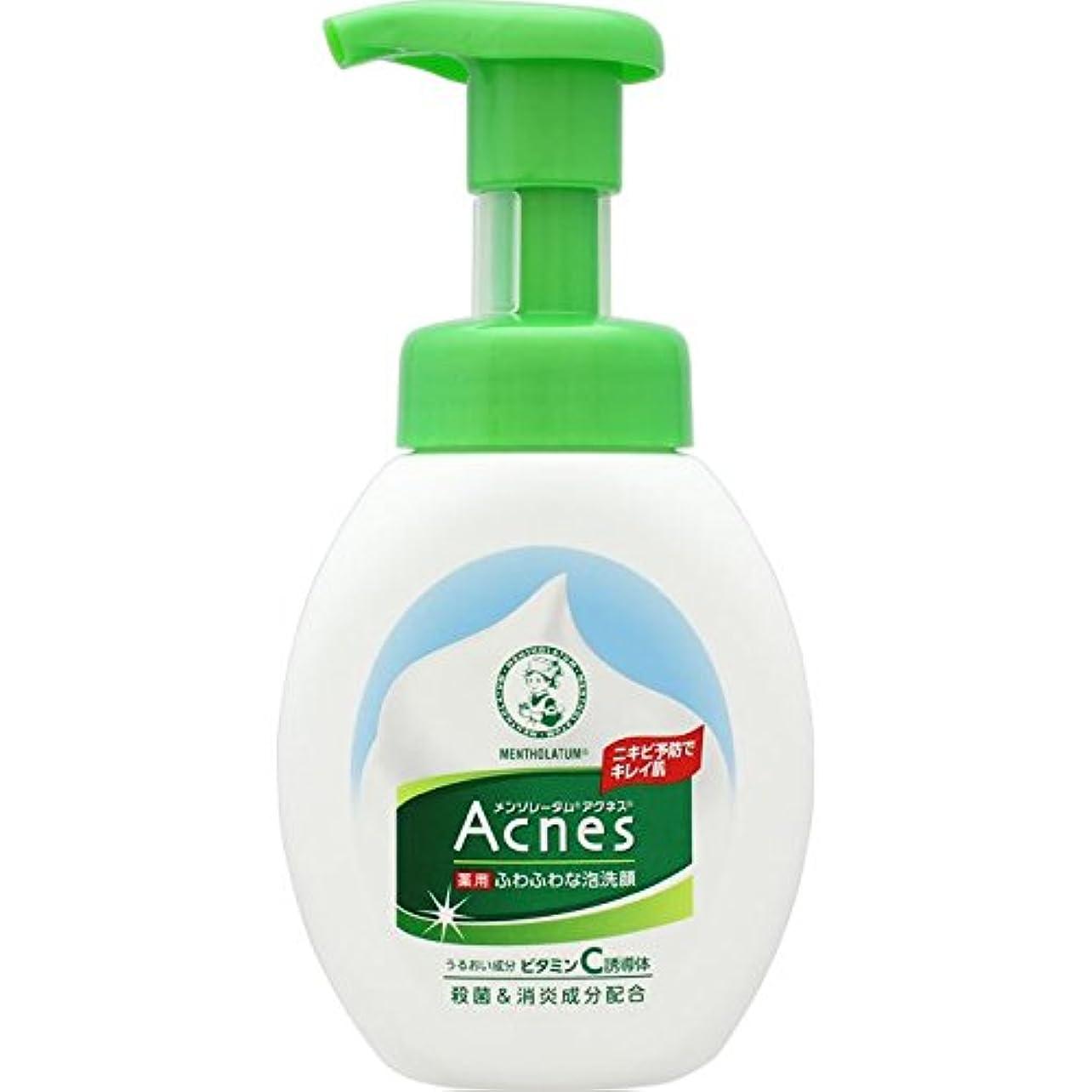 好戦的な匿名バインドAcnes(アクネス) 薬用ふわふわな泡洗顔 160mL【医薬部外品】