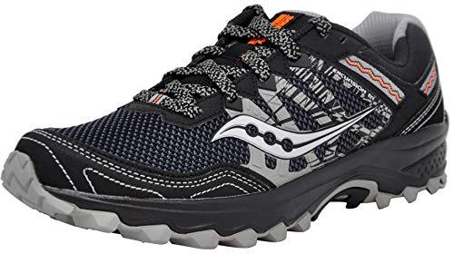 Saucony Men's Grid Excursion TR12 Black/Grey/Orange Sneaker 11 M US