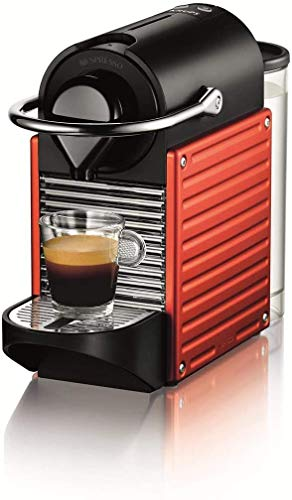 Nespresso Pixie XN3006 Cafetera monodosis de cápsulas, 19 Bares, Apagado automático, 1260 W, 1 Cups, Naranja