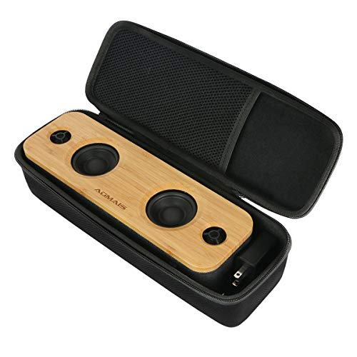 Khanka Hard Case Replacement for AOMAIS Life 30W Bamboo Wood Bluetooth Speakers
