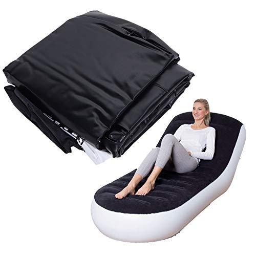 DD&Eren Lazy Inflatable Sofa Aufblasbares Sofa Lounge Chair Aufblasbares Sofa , Klappbarer Freizeitstuhl