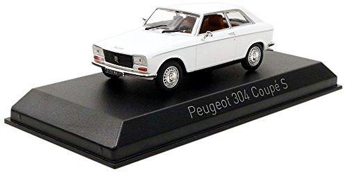 Norev–304S Schnitt 1973Peugeot Fahrzeug Miniatur, 473413, weiß, Maßstab 1/43