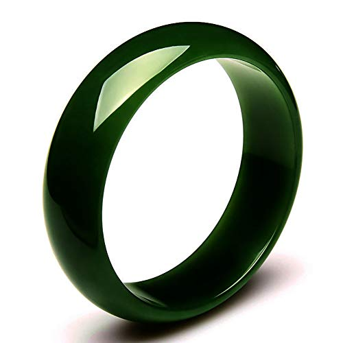 Natürliche schöne Smaragd Jadeit Jade Runde Armreif Antike Sian Art Green Armreif