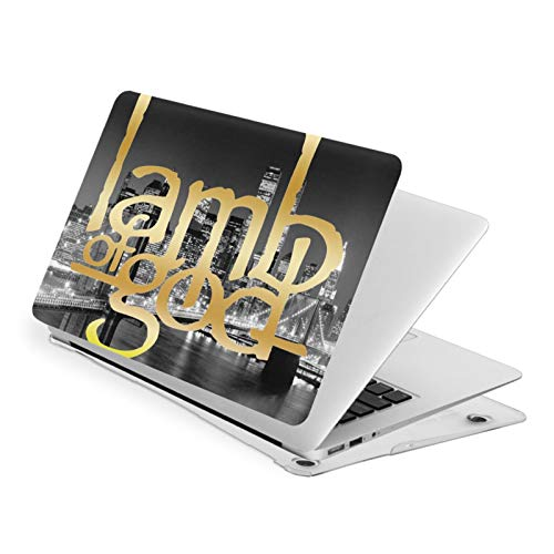 Lamb of God Laptop Case for MacBook Air 13, Plastic Shell Protector Cover Hard Case for Apple New air13