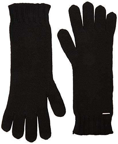 BOSS Damen Gamaru Handschuhe, Schwarz (Black 001), One Size (Herstellergröße: STÜCK)