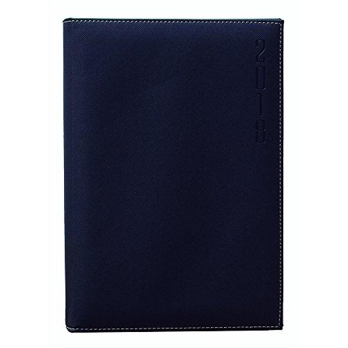 Makro Paper 002505 - Agenda 2018, 170 x 240 mm, color negro