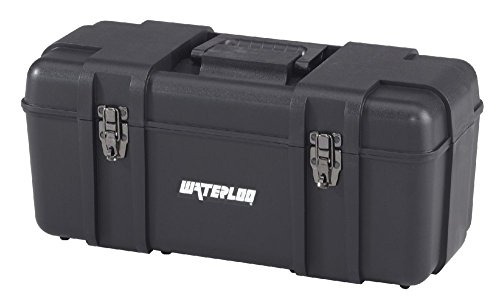 Waterloo Portable Series Tool Box made with Lightweight Industrial-Strength Plastic, 20'