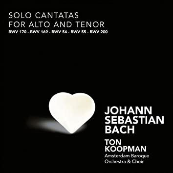 Bach: Solo Cantatas for Alto and Tenor