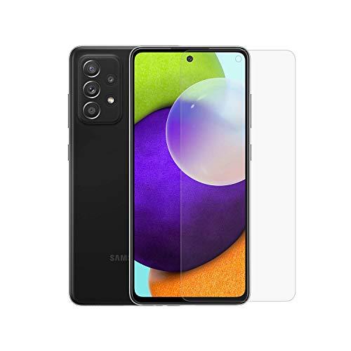 Protector de pantalla de cristal templado para Galaxy A52 5G compatible con Galaxy A52 5G