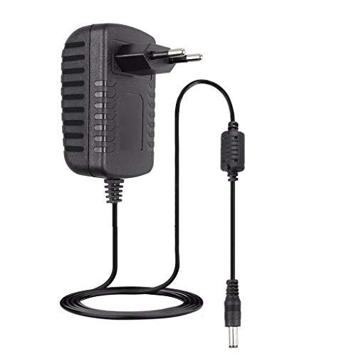 fengleas 12V Ladegerät Ladekabel Netzteil für Ra.zor Power Core E90, ePunk, XLR8R Elektroroller, Ersatz Elektroroller Ladegerät, EU-Stecker (Schwarz)
