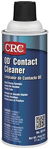 CRC  2130 QD Plastic Safe Liquid Contact Cleaner 11 oz Aerosol Can Clear