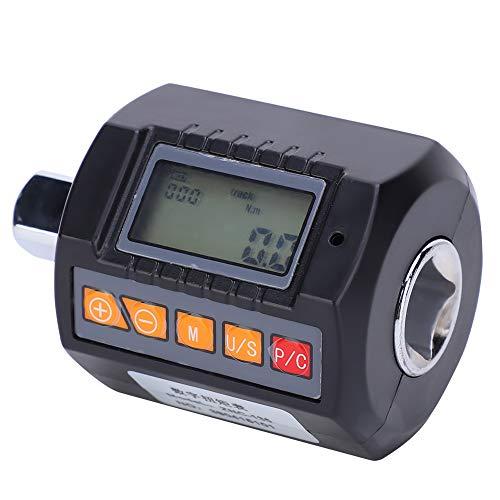 Ccylez Digitales Drehmomentmessgerät, elektronisches Drehmomentmessgerät ZNC-135, 13,5-135 N.M. Tragbarer Schraubenschlüsseladapter mit hoher Genauigkeit, Digitalanzeige-Torsionsmessgerät
