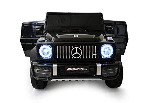 Babycar Mercedes G63 Versione Sport AMG ( Nera ) Nuova Versione Macchina Elettrica per Bambini Ufficiale con Licenza 12 Volt Batteria con Telecomando 2.4 GHz Porte Apribili con MP3