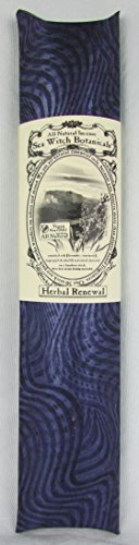 Sea Witch Botanicals Handmade Herbal Renewal All Natural Plant Based Incense. Non GMO Essential Oils. 50 Sticks Per Pack