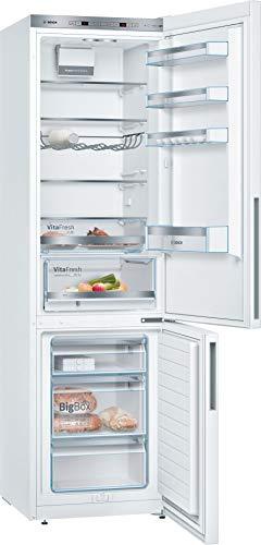 Bosch KGE39VW4A - Frigorífico con congelador, A+++, 201 cm, 168 kWh/año, 252 l, 95 l, extrafino