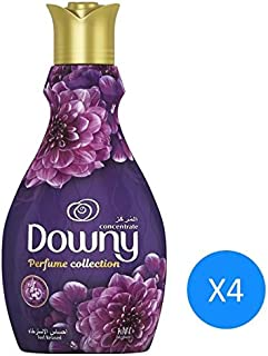 Downy Perfume Collection Concentrate Fabric Softener Feel Relaxed, 1.38L 4 Pcs