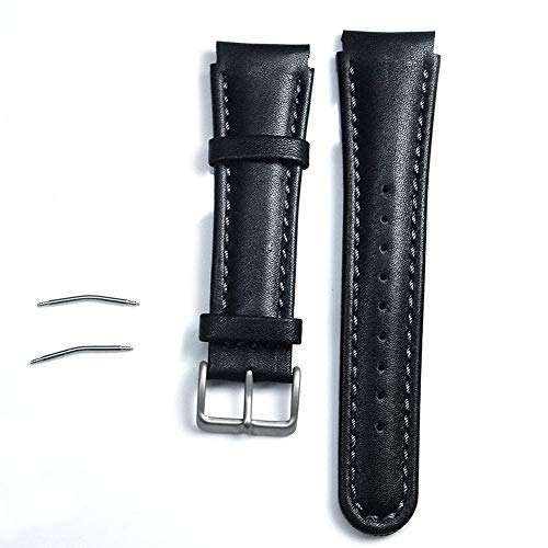 Xpccj 22 mm läder slitstarkt reservarmband klockarmband för SUUNTO X-LANDER