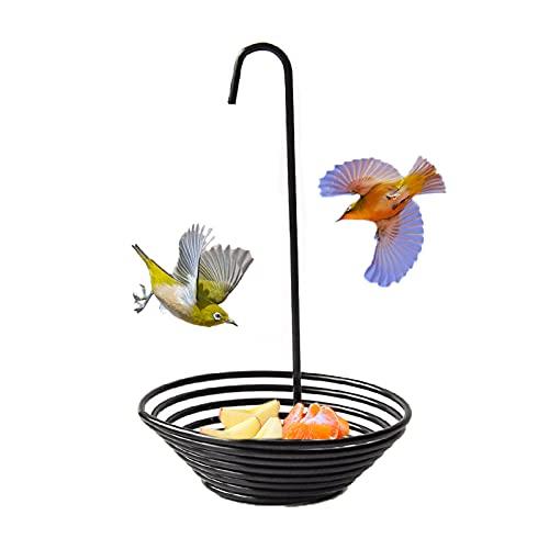 TOMMYFIELD バードフィーダー 鳥の餌台 吊り下げ 屋外 野鳥 餌台 餌入れ 鳥 えさ台
