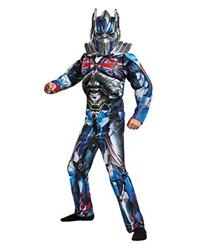 Horror-Shop Transformers Optimus Prime Nio Disfraz De Msculo L