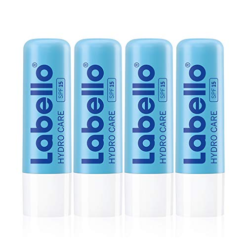 Labello Hydro Care Lot de 4 flacons de soin des...