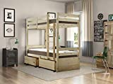Strictly Beds and Bunks - Everest Storage Bunk Bed, 3ft Single