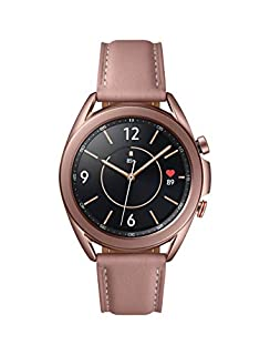 Samsung Galaxy Watch 3 (41mm, GPS, Bluetooth, Unlocked LTE) Smart Watch with Advanced Health Monitoring, Fitness Tracking , and Long lasting Battery - Mystic Bronze (US Version) (B089DPH7LY) | Amazon price tracker / tracking, Amazon price history charts, Amazon price watches, Amazon price drop alerts