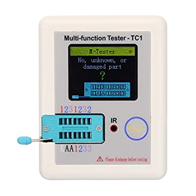 LCR-TC1 Colorful Display Pocketable Multifunctional TFT Backlight Transistor Tester for Diode Triode Capacitor Resistor Transistor LCR ESR NPN PNP MOSFET