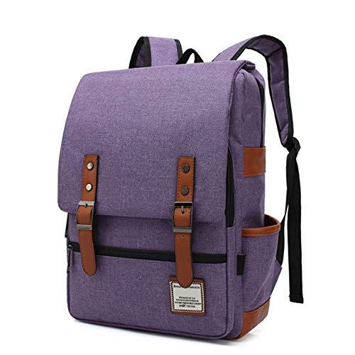 LHFLU-SP Teenagers School Bags Hiking Backpack Cool Sports Backpacks Laptop Rucksack Daypack Tablet Bags for Girl Boys Children,Purple 2