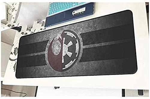 Extended Gaming Mouse Pad Star Wars gran tamaño del teclado alfombrillas de ratones impermeable antideslizante juego Mousepad for Ministerio del Interior PC de escritorio Tabla alfombrilla de ratón Ma