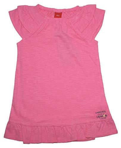 s.Oliver Locker leichtes Shirtkleid in Pink aus Reiner BW Slub Garn Baby 5520 (62)