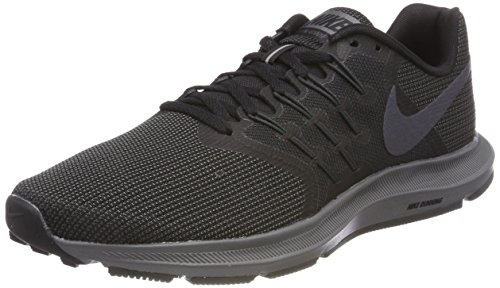 Nike Men's Run Swift Shoe, Black/Metallic Hematite-Dark Grey-Anthracite, 8 Regular US