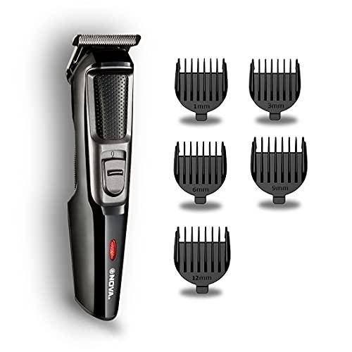 Nova NHT 1078 Rechargeable 5 Length Settings Cordless: 30 Minutes Runtime Beard Trimmer for Men