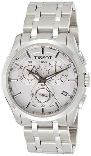 Tissot Orologio Cronografo al Quarzo Uomo con Cinturino in Acciaio Inox T0356171103100