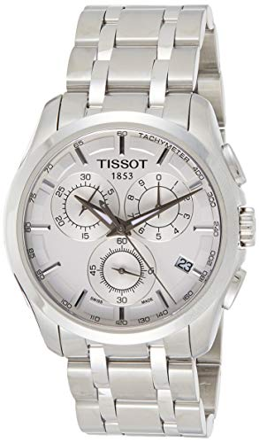 Tissot Reloj Analógico para Hombre de Cuarzo con Correa en Acero Inoxidable 501GWBL