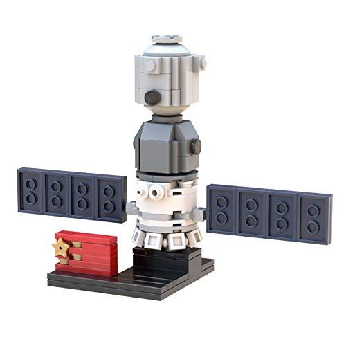 Space Rocket Base Shuttle Satélite Set Estación Espacial Naves Espaciales Bloques de Construcción Juguetes Regalos